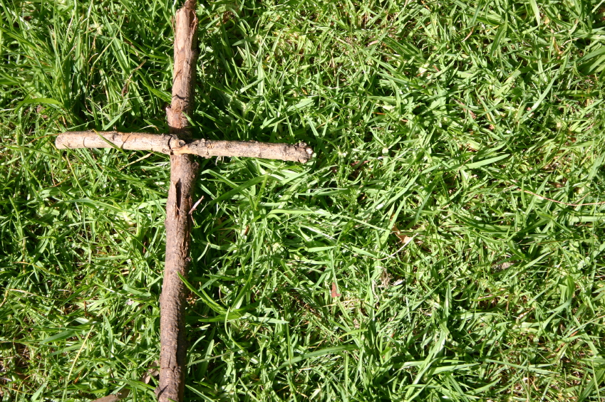 Alfa img - Showing > Cross Made of Sticks